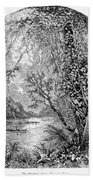 Potomac River Beach Towel