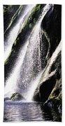 Powerscourt Waterfall, Co Wicklow Beach Towel