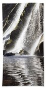 Powerscourt Waterfall, Powerscourt Beach Towel