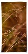 Prairie Grasses Number 4 Beach Towel
