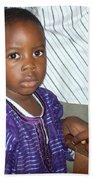 Precious Nigerian Boy Beach Towel