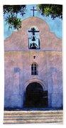 Presido Chapel San Elizario Texas Beach Towel