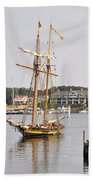 Pride Of Baltimore II Pb2p Beach Towel