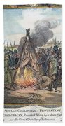 Protestant Martyrs, 1563 Beach Towel