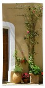 Provence Door 3 Beach Towel by Lainie Wrightson