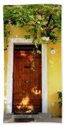 Provence Door Number 1 Beach Towel