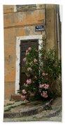 Provence Door Number 9 Beach Towel
