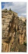Puente Nuevo In Ronda Beach Towel