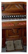 Pump Organ Beach Towel