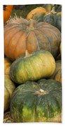 Pumpkin Farm Beach Towel