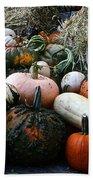 Pumpkin Piles Beach Towel