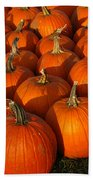 Pumpkin Strike Beach Towel