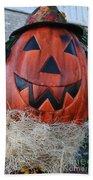 Pumpkinhead Beach Towel