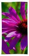 Purple Daisy's Beach Towel