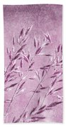 Purple Gras Beach Towel