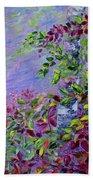 Purple Haze Beach Towel by Joanne Smoley