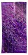 Purple Mystique Beach Towel