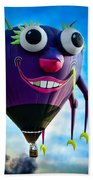 Purple People Eater Beach Towel