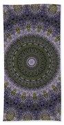 Purple Pleasure Abstract Beach Towel