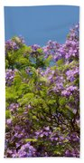 Purple Prelude Beach Towel