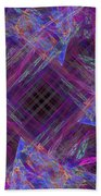 Purples II Beach Towel