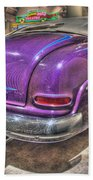 Purplre Car Dearborn Mi Beach Towel