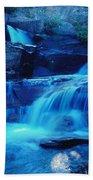 Quaint Falls  Beach Towel