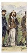 Quakers: Mary Dyer, 1659 Beach Towel
