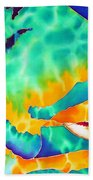 Queen Parrotfish Beach Towel by Daniel Jean-Baptiste