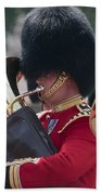 Queens Guards Band Beach Towel