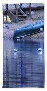 Quiet Canoes Beach Towel