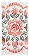 Quilted Centerpiece Beach Towel