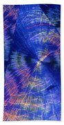 Quinic Acid Beach Towel
