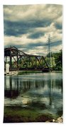 Rail Swing Bridge Beach Towel