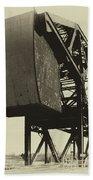 Railroad Bridge 10615a Beach Towel