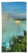 Rainbow Over Niagara Beach Towel