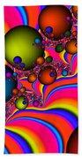 Rainbow Universe Beach Sheet