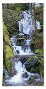 Rainforest Waterfall Beach Towel