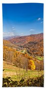 Randolph County West Virginia Beach Towel