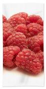 Raspberries Beach Towel