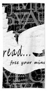 Read Free Your Mind Beach Towel