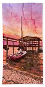 Ready To Sail Beach Towel