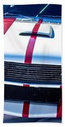 Red 1966 Mustang Shelby Beach Towel