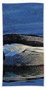 Red Breasted Merganser Beach Towel