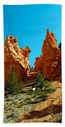 Red Canyon Trail Beach Towel