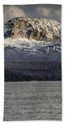 Red Eagle Mountain Evening Beach Towel