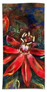 Red Passion Beach Towel