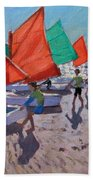 Red Sails Beach Towel