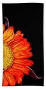 Red Sunflower IIi Beach Towel