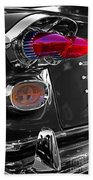 Red Tail Lights Beach Towel